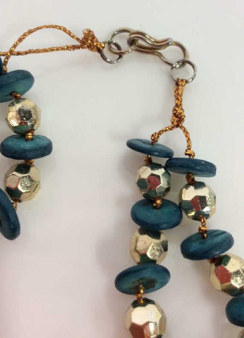 Lot 2 Women's Beaded Necklaces - 8
