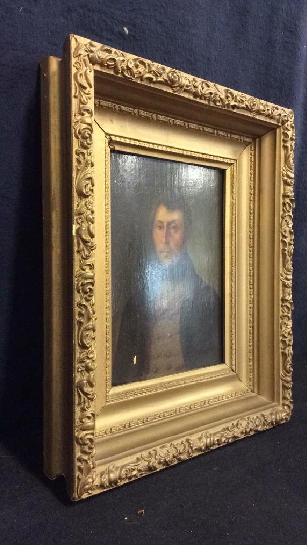 Early 19th Century Oil On Board Of Gentleman - 8