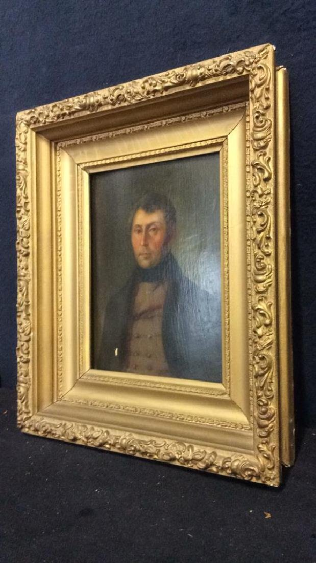 Early 19th Century Oil On Board Of Gentleman - 9