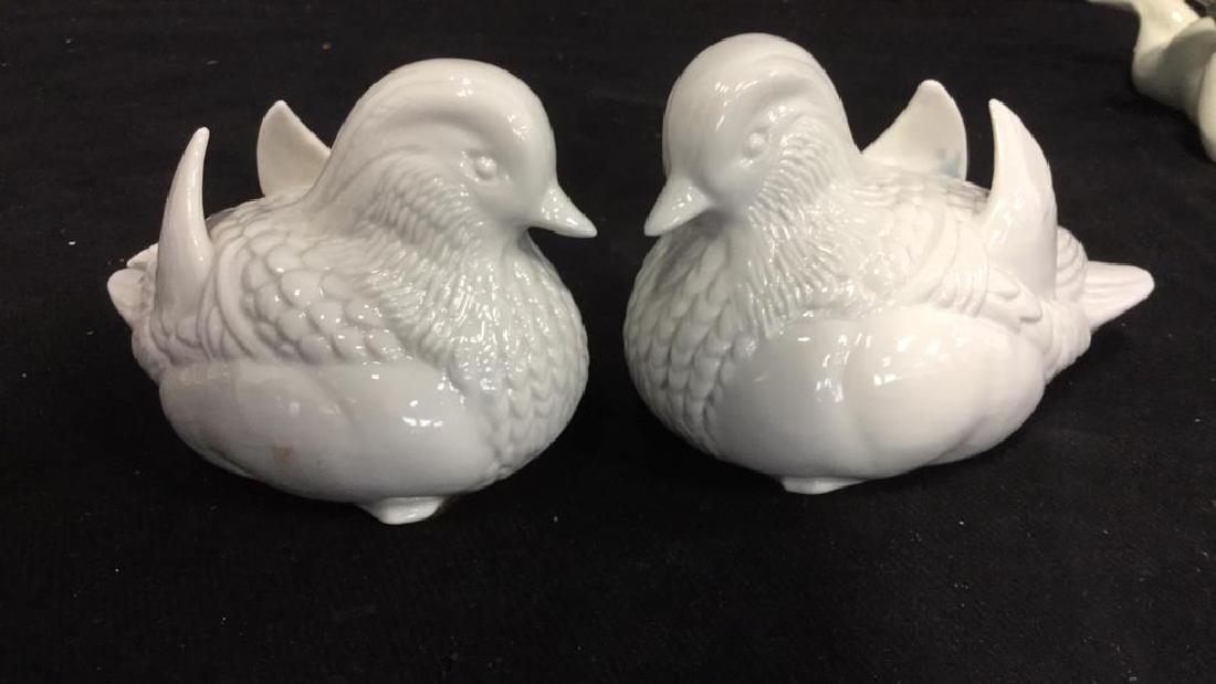 Birds and Angels Porcelain Group lot Figurals - 2