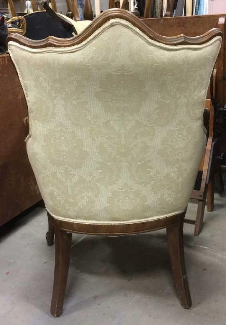Vintage Victorian Style Upholstered  Armchair - 7