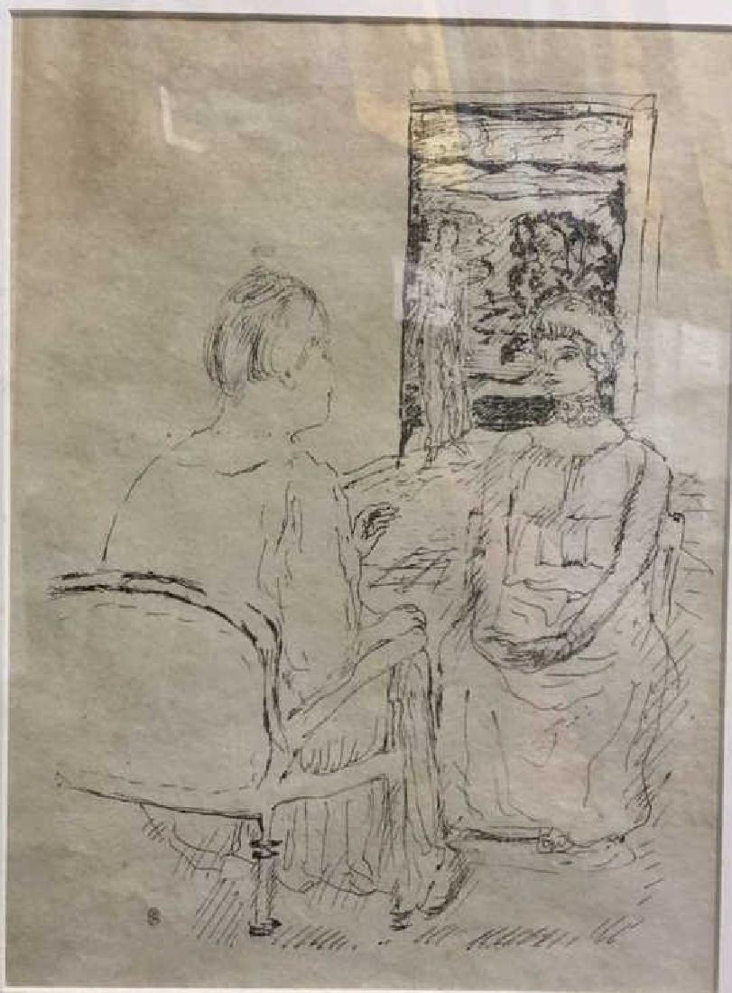 PIERRE BONNARD 1930 Lithograph from Sainte Monique - 4
