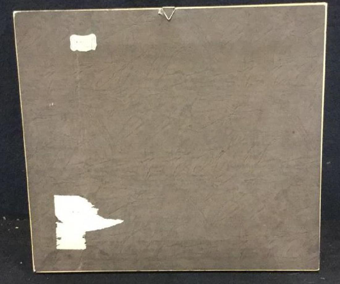 Italian Sterling Silver Relief Framed Artwork - 10