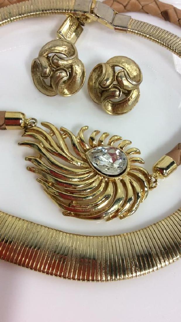 Lot 3 Women's Vintage Designer Jewelry