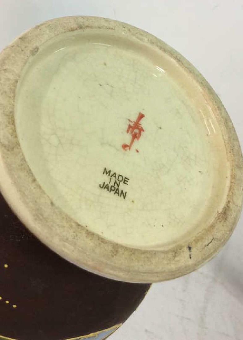 Set 3 Oriental Porcelain Ceramic Vases - 10