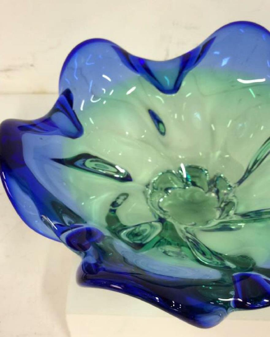 Art Glass Crystal Decorative Bowl - 3