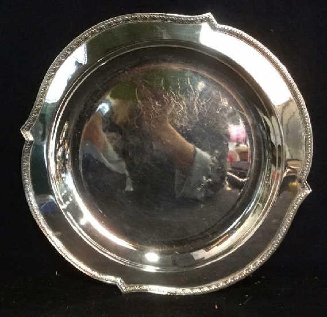 6 Ornate Vintage/ Antique Silver Pl Table Top - 4