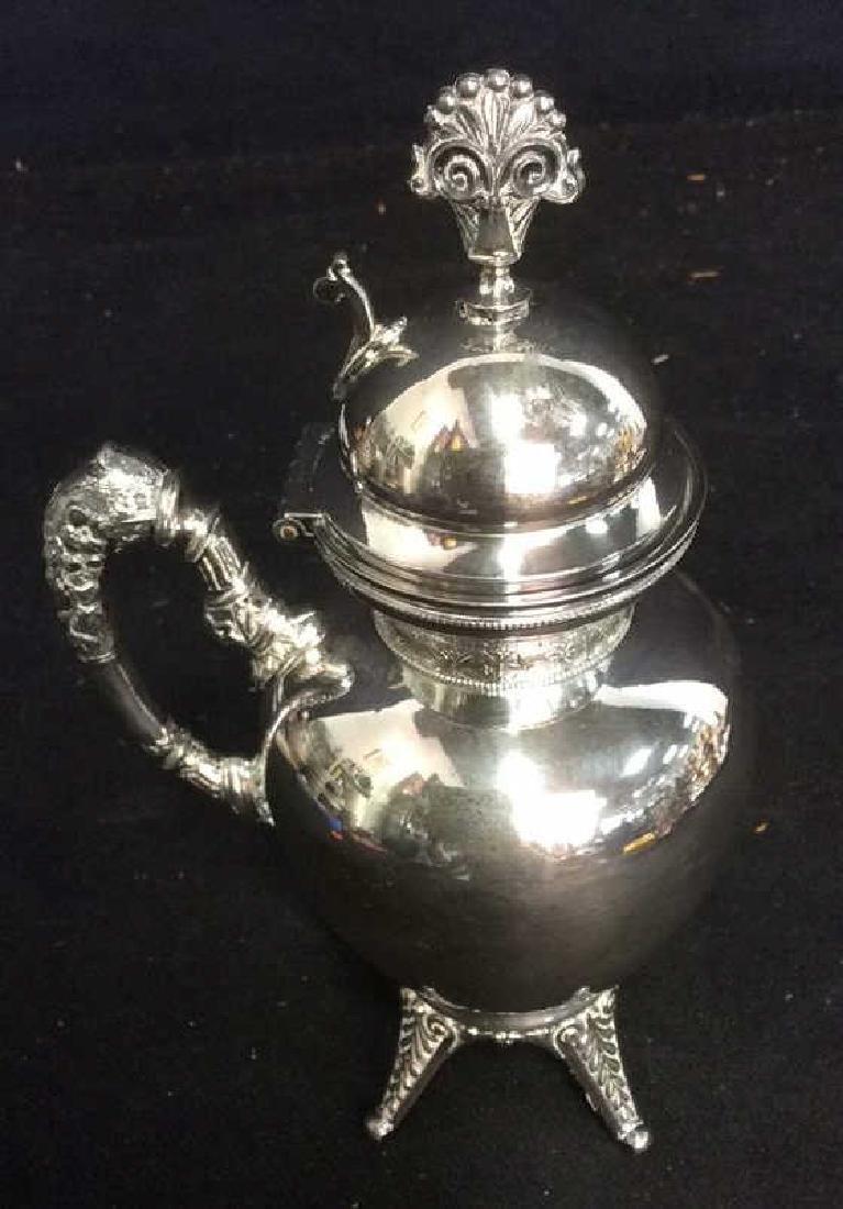 6 Ornate Vintage/ Antique Silver Pl Table Top - 9