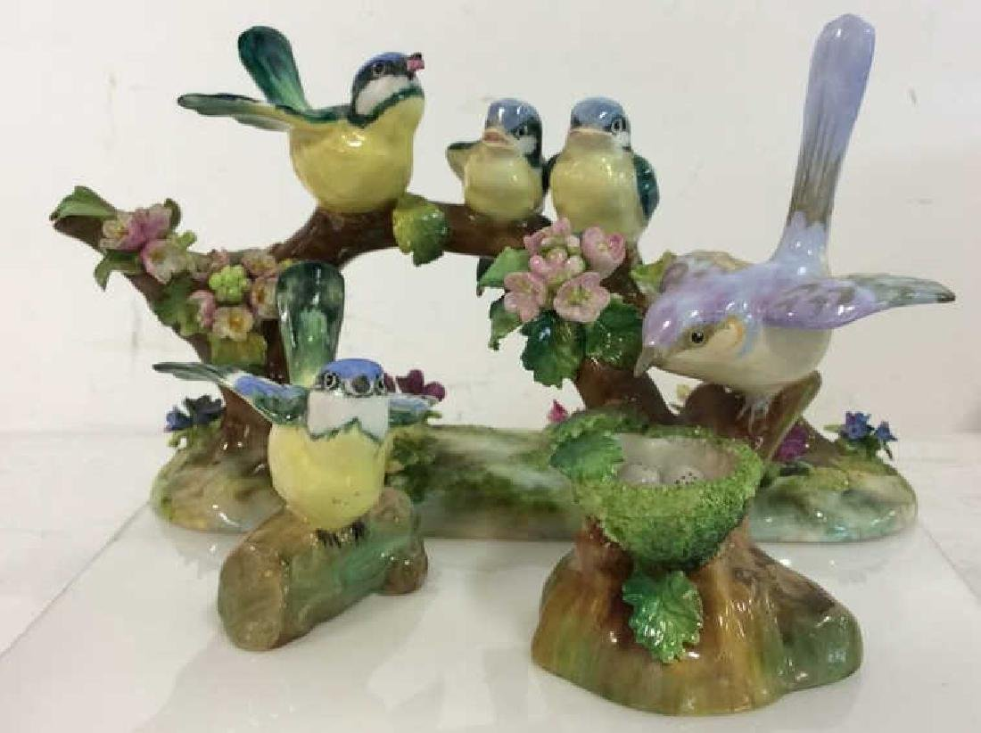 CROWN STAFFORDSHIRE J.T.Jones Bird Figurals