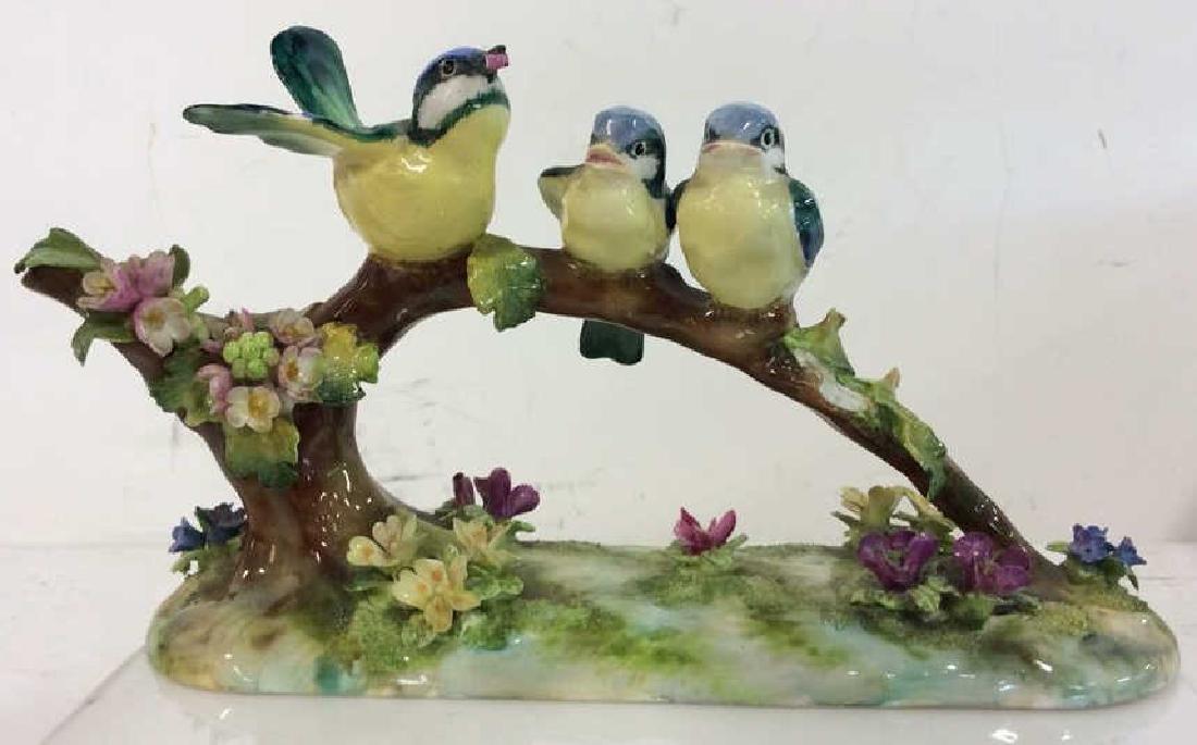 CROWN STAFFORDSHIRE J.T.Jones Bird Figurals - 2