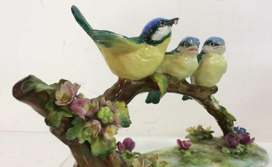 CROWN STAFFORDSHIRE J.T.Jones Bird Figurals - 3