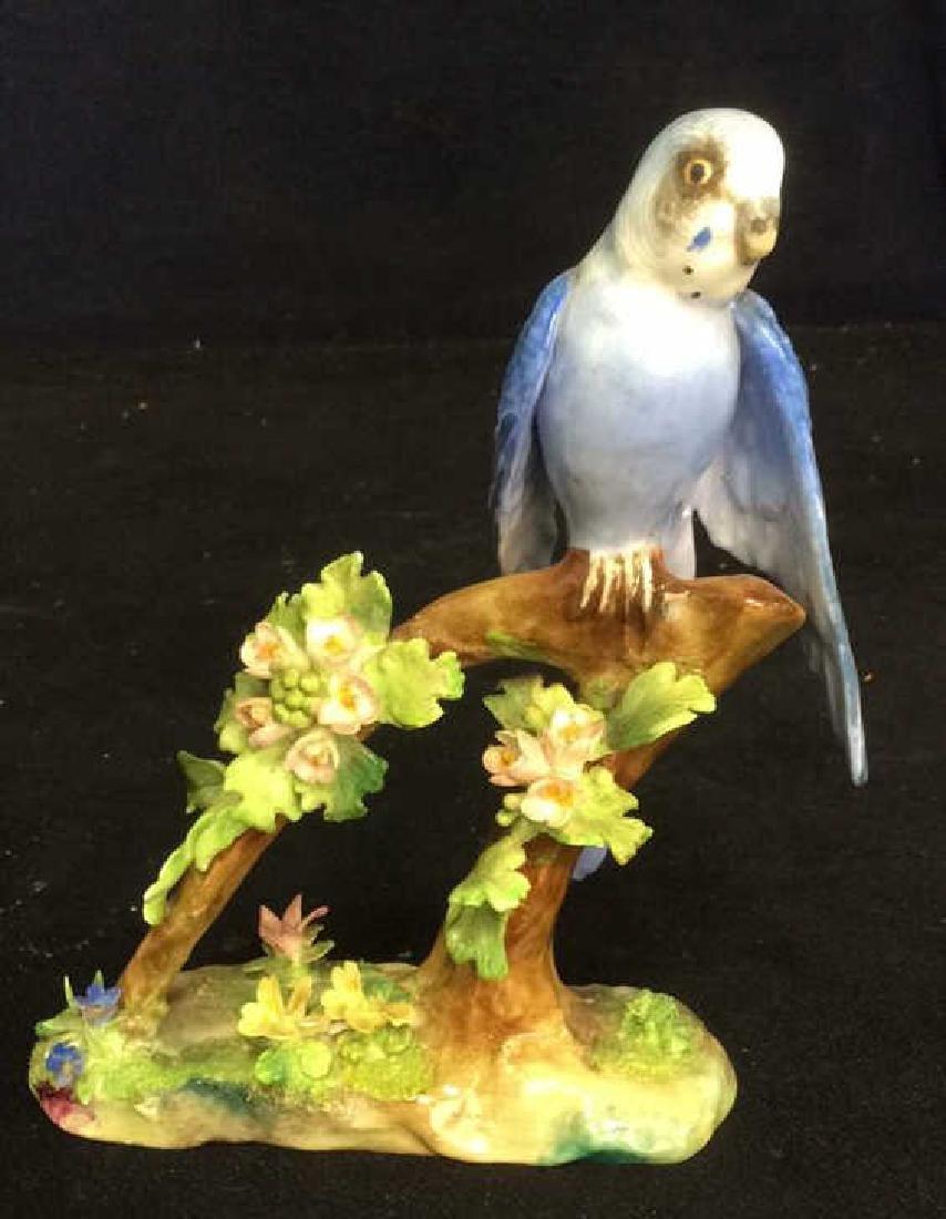 3 Porcelain Bird Figurals , Staffordshire - 3