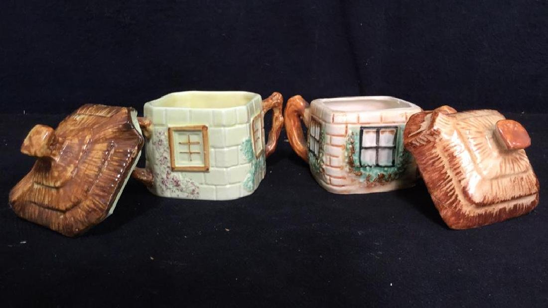 Lot 5 Cottage Handpainted Porcelain Tea Set - 10