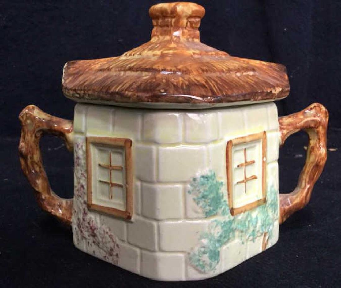 Lot 5 Cottage Handpainted Porcelain Tea Set - 3
