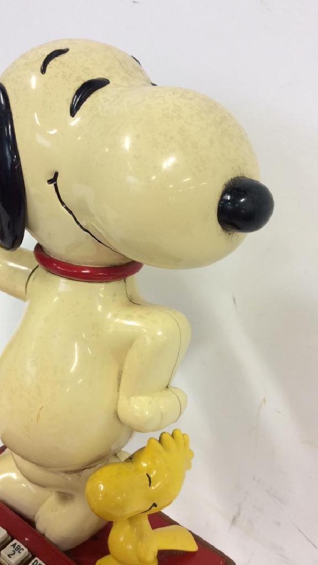 Vintage 1976 Snoopy and Woodstock Phone - 5