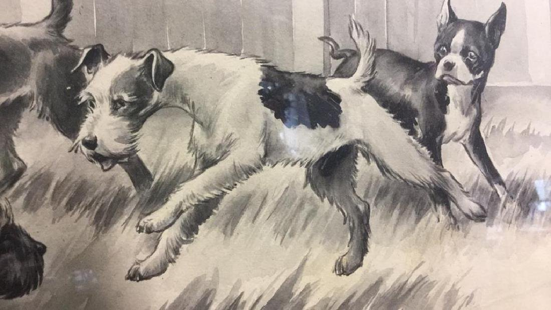 MORGAN STINEMETZ Dog Lithograph Artwork - 5