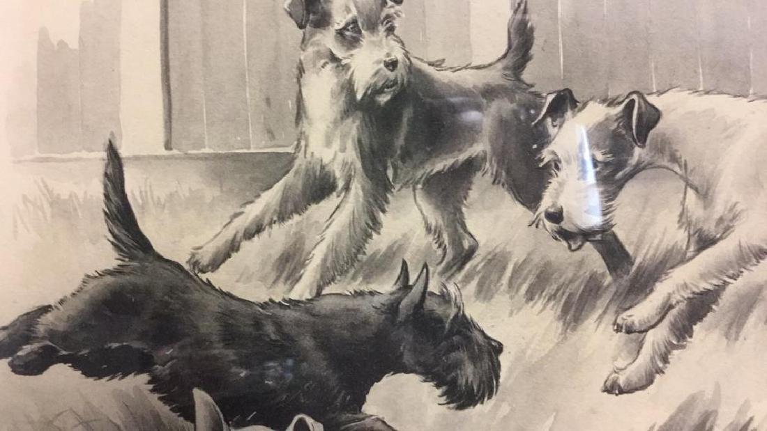 MORGAN STINEMETZ Dog Lithograph Artwork - 6