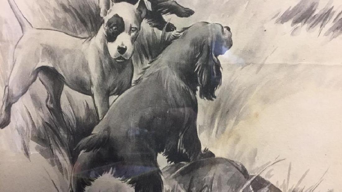 MORGAN STINEMETZ Dog Lithograph Artwork - 7