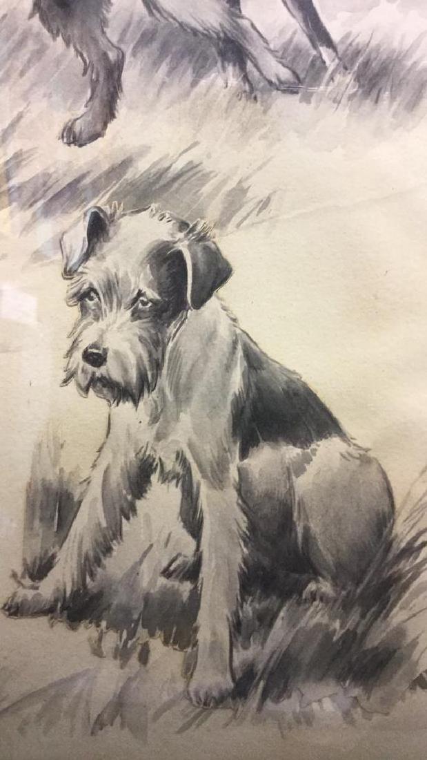 MORGAN STINEMETZ Dog Lithograph Artwork - 8