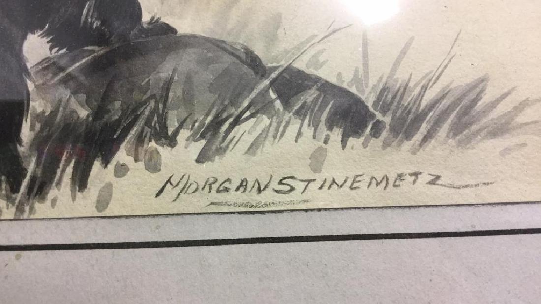 MORGAN STINEMETZ Dog Lithograph Artwork - 9