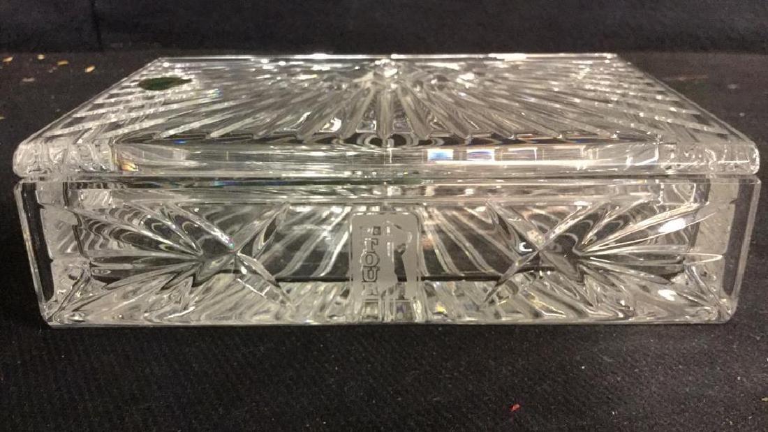 WATERFORD Crystal Millennium Keepsake Box w Box - 2
