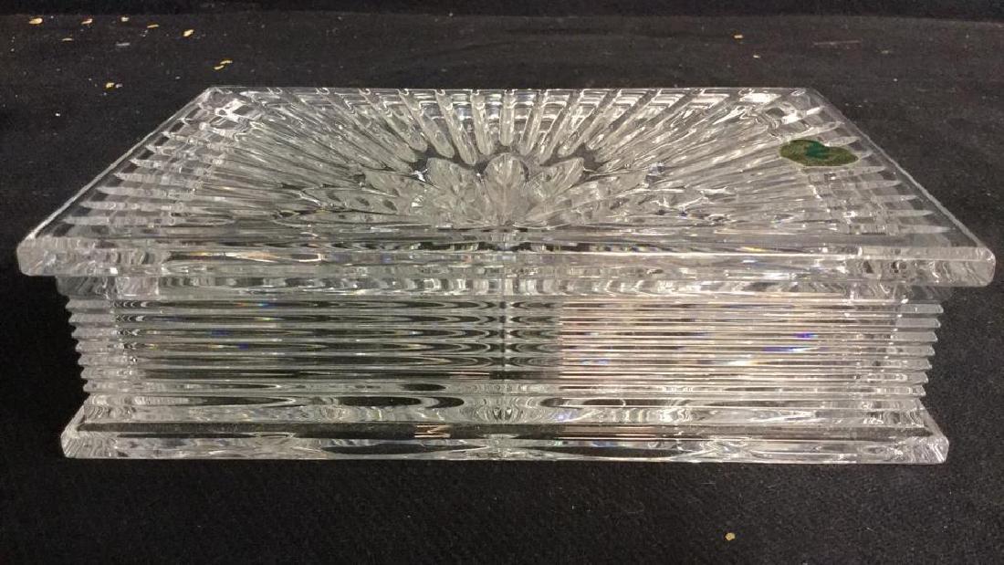 WATERFORD Crystal Millennium Keepsake Box w Box - 4