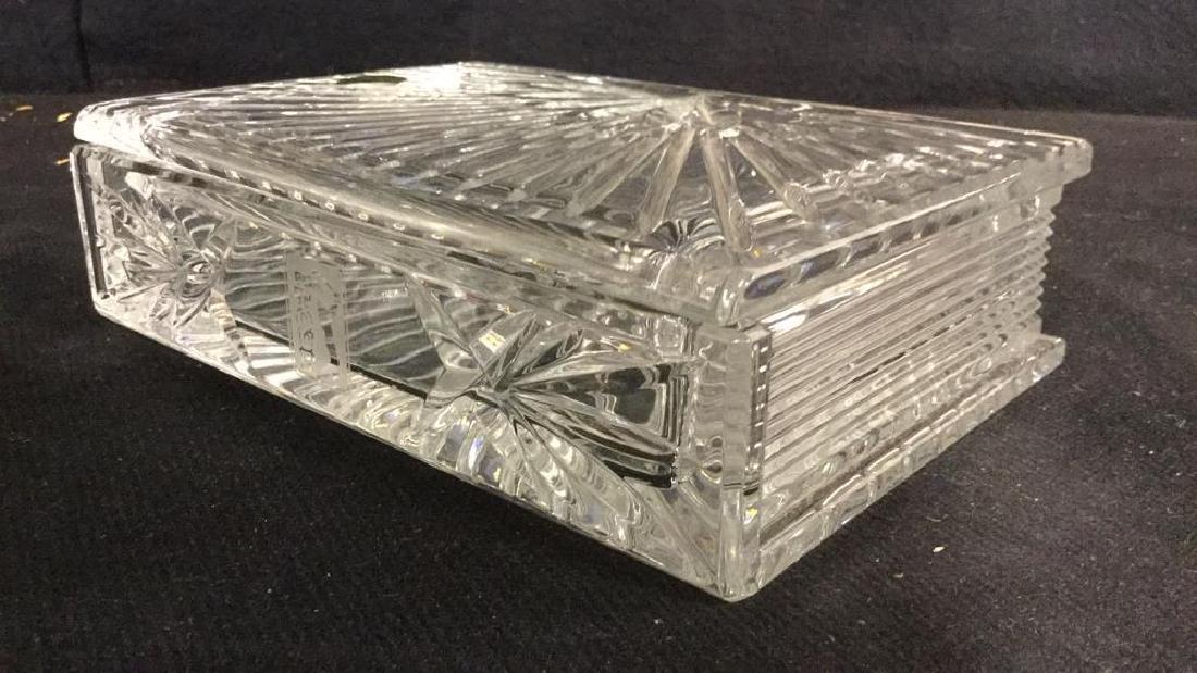WATERFORD Crystal Millennium Keepsake Box w Box - 9