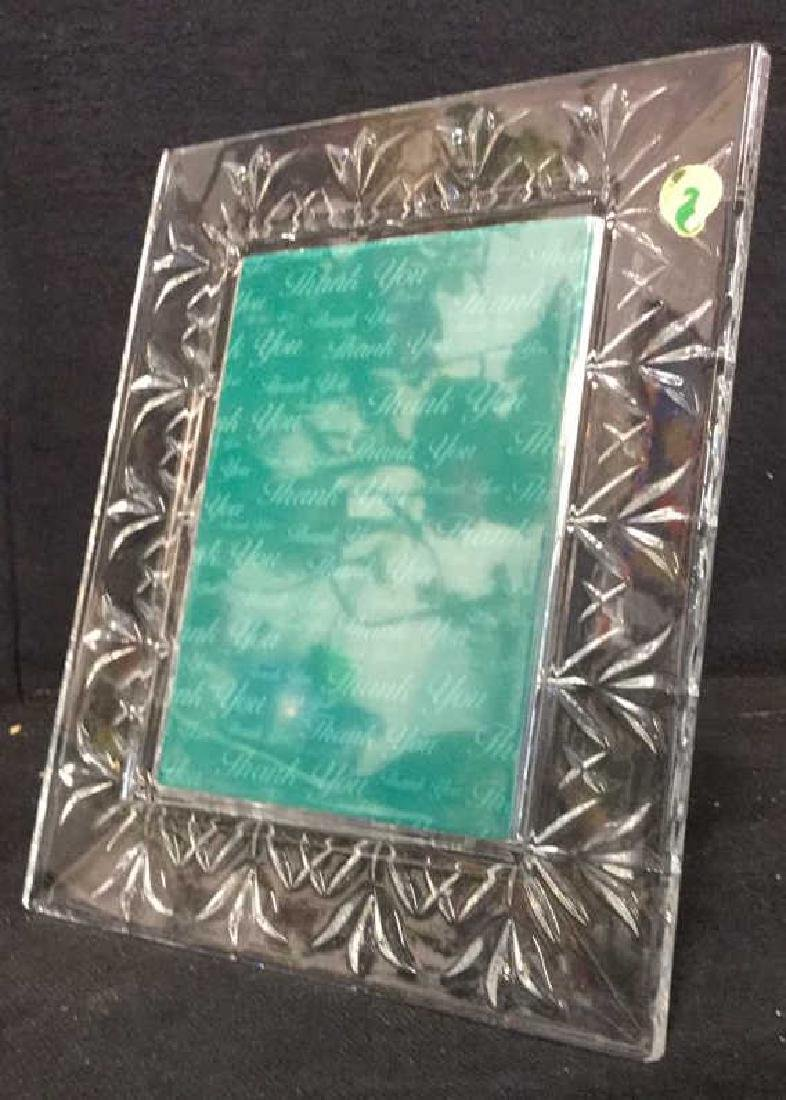 WATERFORD CRYSTAL Picture Frame w Box