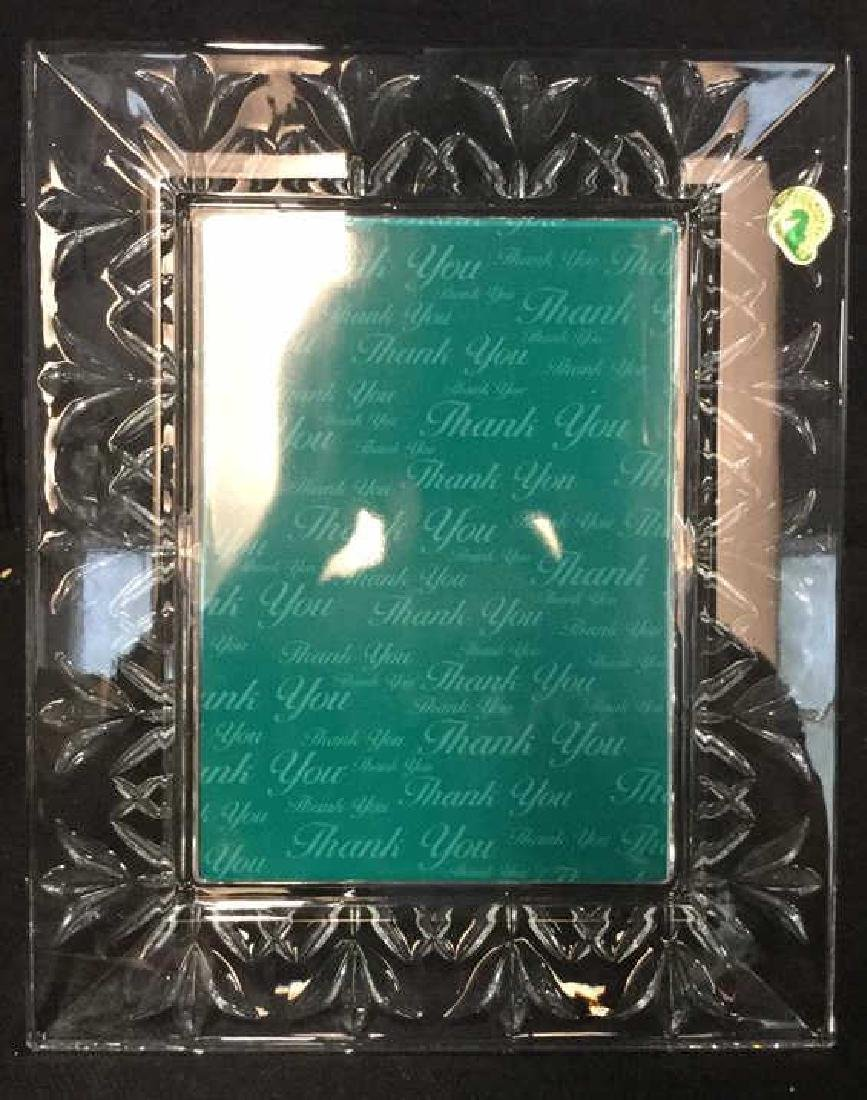 WATERFORD CRYSTAL Picture Frame w Box - 3