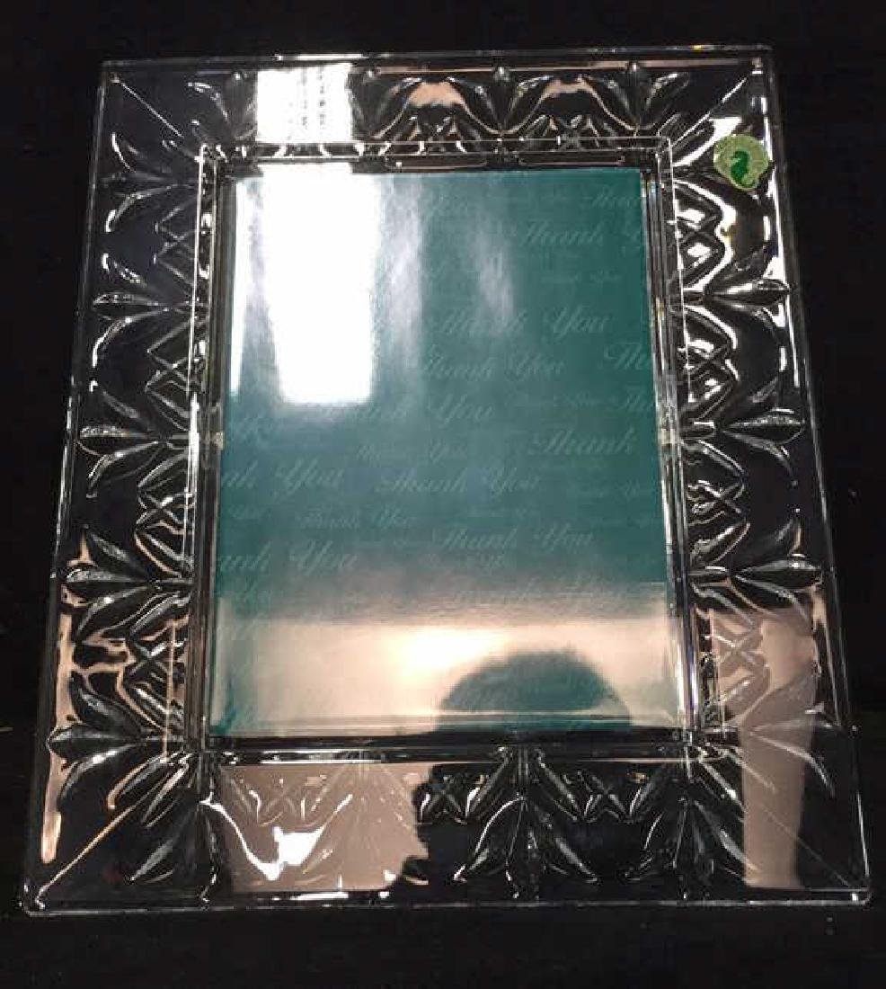 WATERFORD CRYSTAL Picture Frame w Box - 4