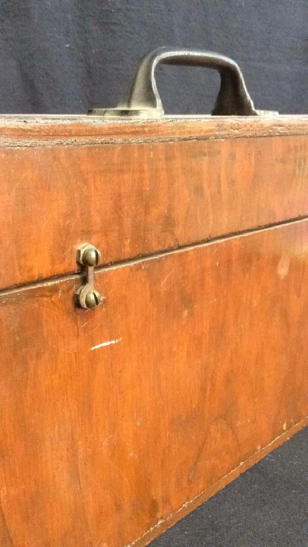 Set Of 29 Vintage Antique Wooden Arrows w Box. - 12