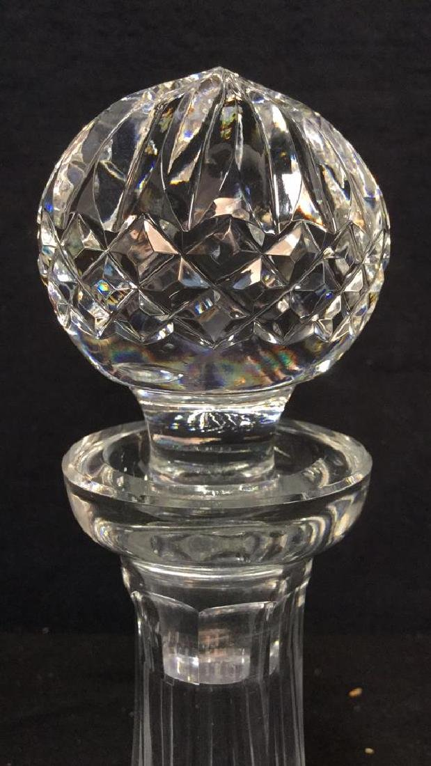 WATERFORD Cut Crystal Ships Decanter - 4
