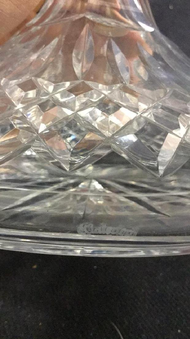WATERFORD Cut Crystal Ships Decanter - 8