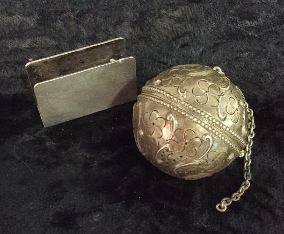 Vintage Sterling Silver Accessories - 2