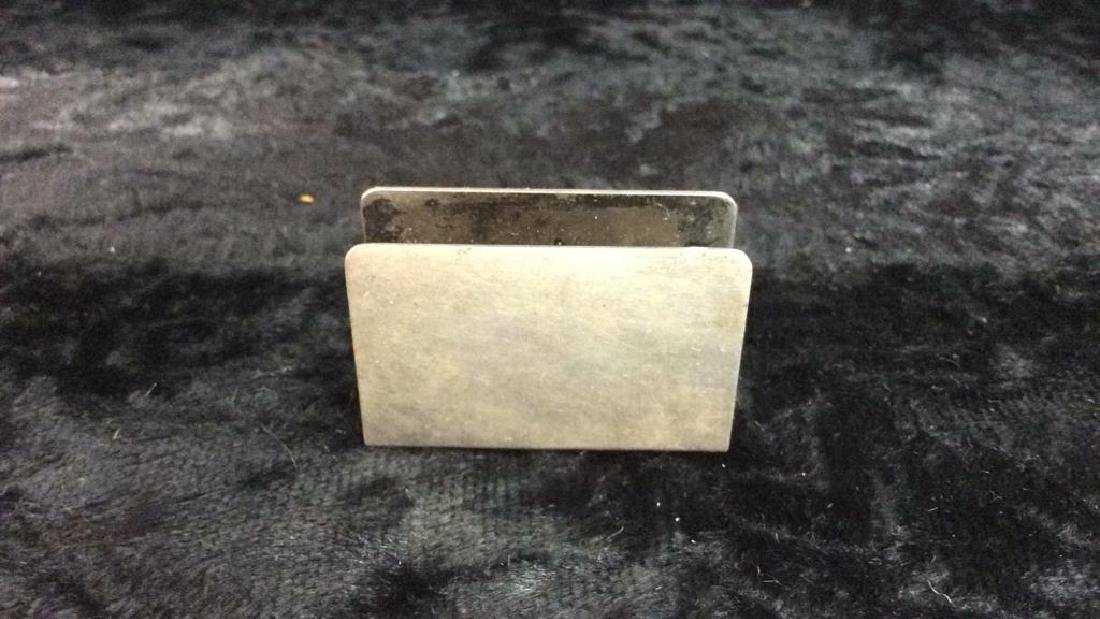Vintage Sterling Silver Accessories - 3