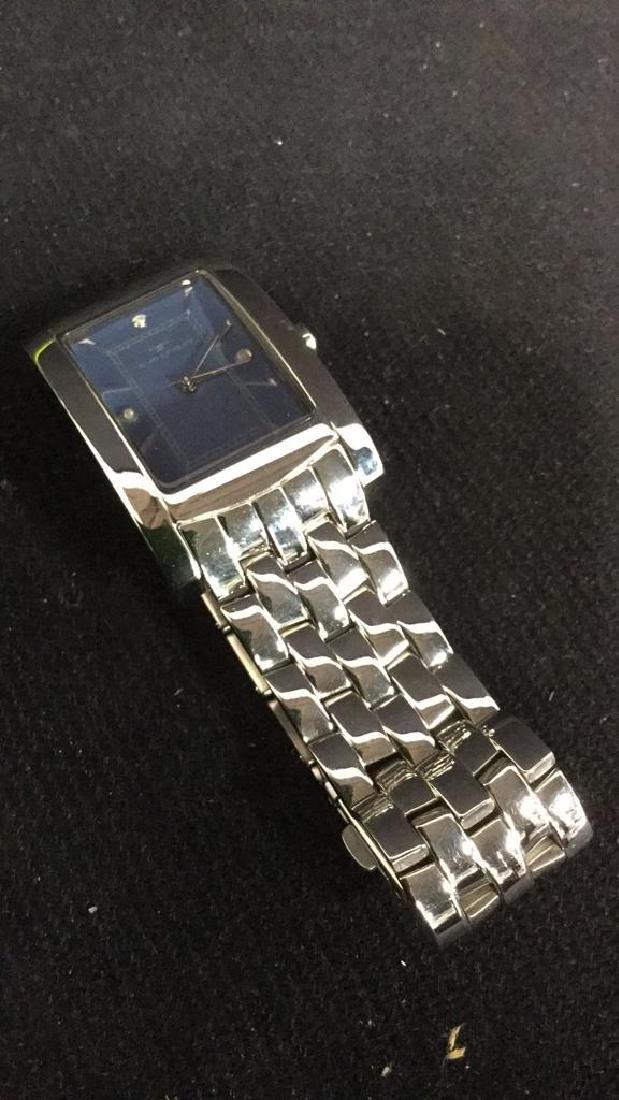 TAVAN Silver Toned Watch In Original Box - 6
