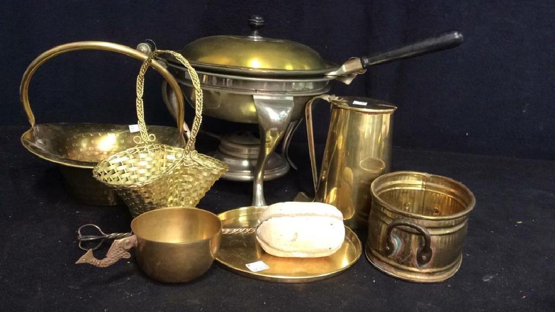Vintage Brass Kitchen Accessories
