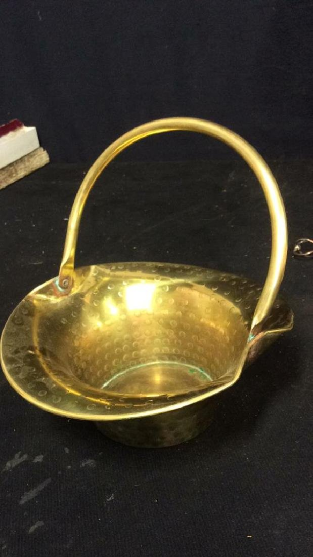 Vintage Brass Kitchen Accessories - 4