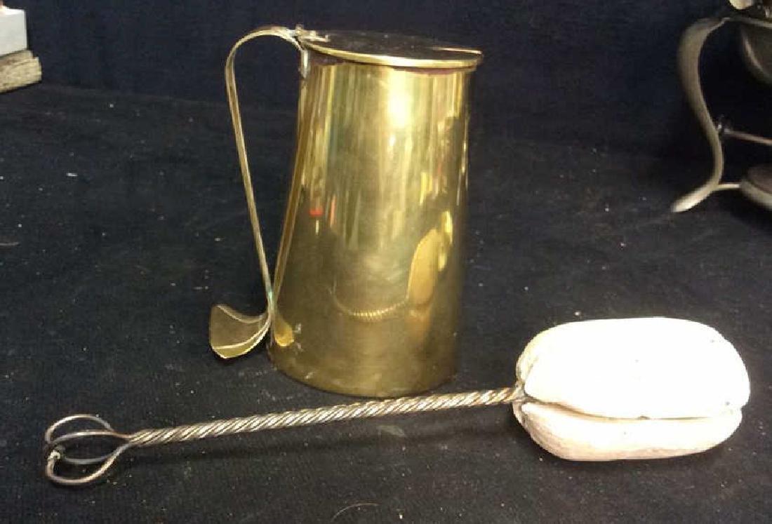 Vintage Brass Kitchen Accessories - 6