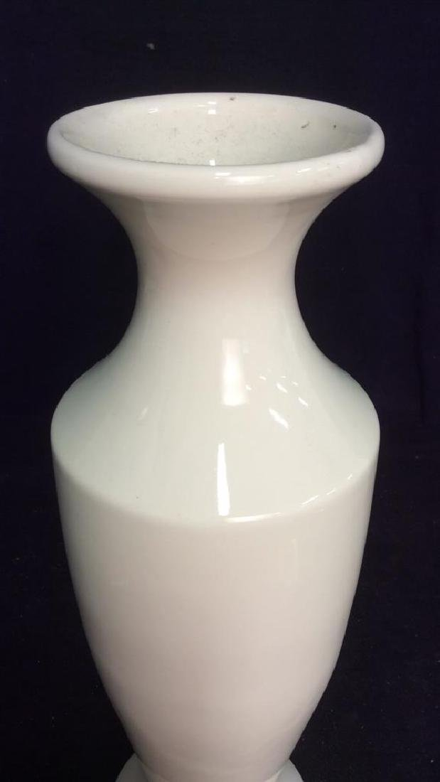 HAEGER Vanilla Toned Ceramic Vase - 3