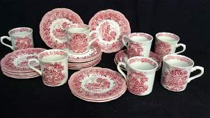 English Ironstone J&G Meakin Desert andCoffee