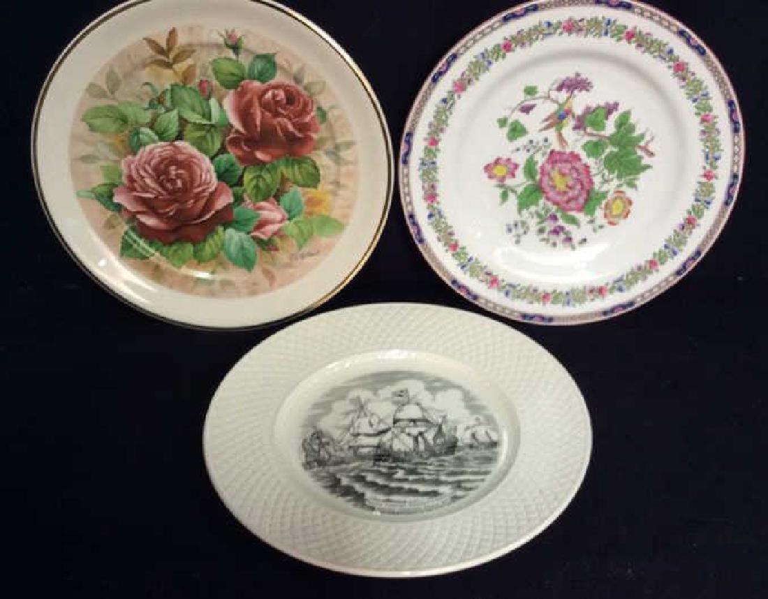 Lot 3 Collectible Porcelain Plates