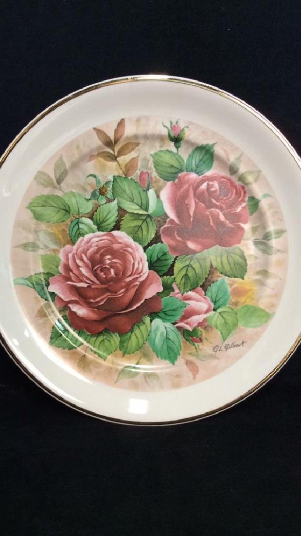 Lot 3 Collectible Porcelain Plates - 2