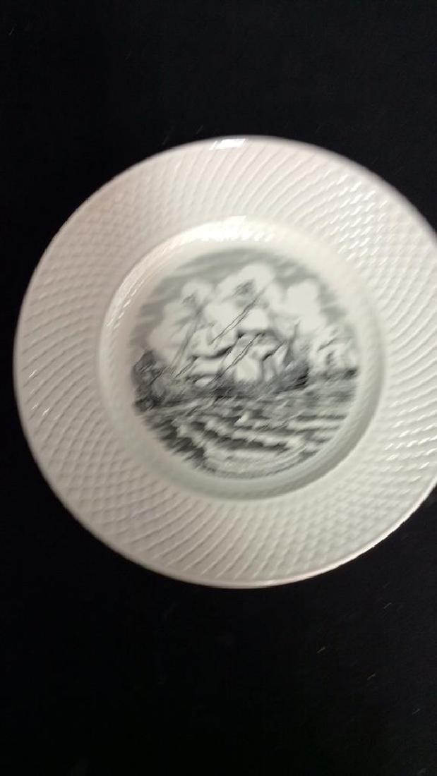 Lot 3 Collectible Porcelain Plates - 4
