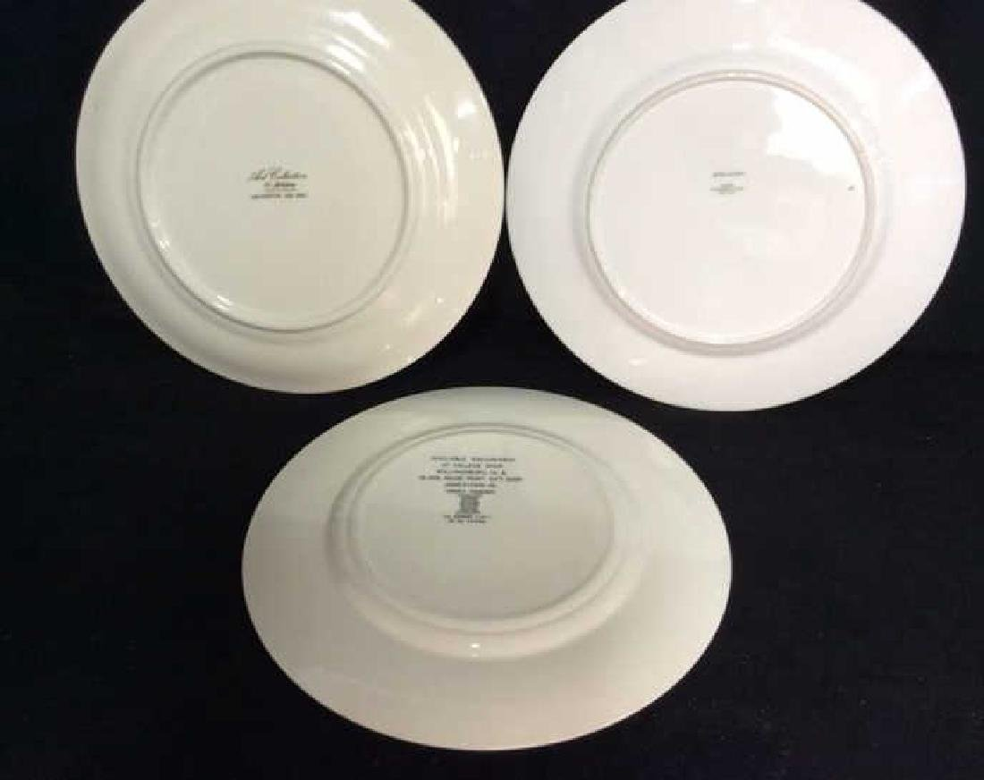Lot 3 Collectible Porcelain Plates - 8
