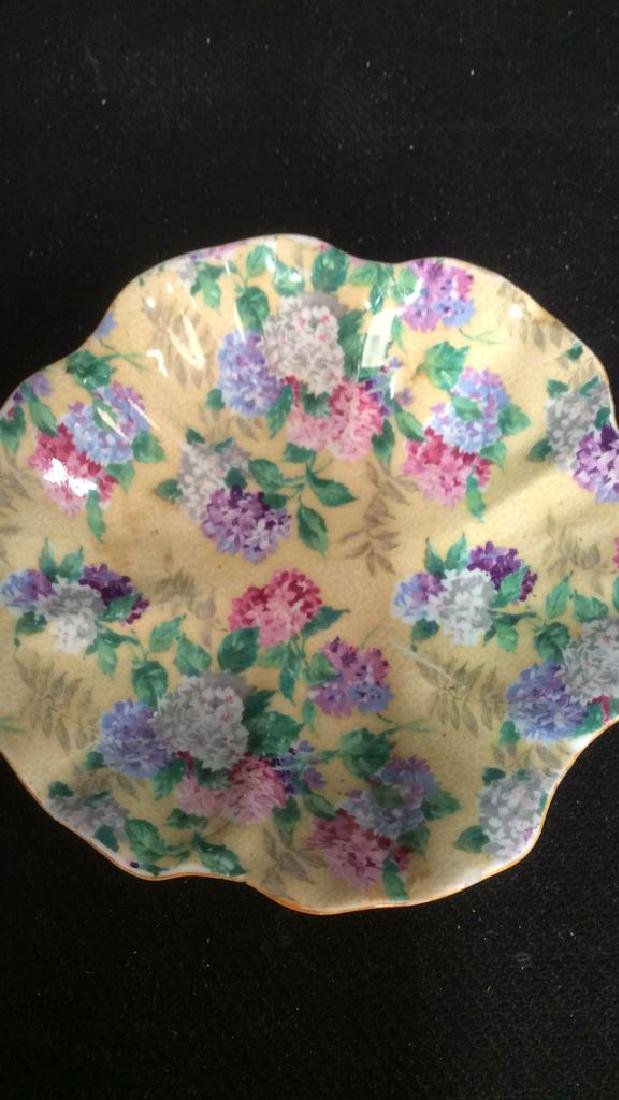 Group Lot English Chintz Porcelain Table top - 10