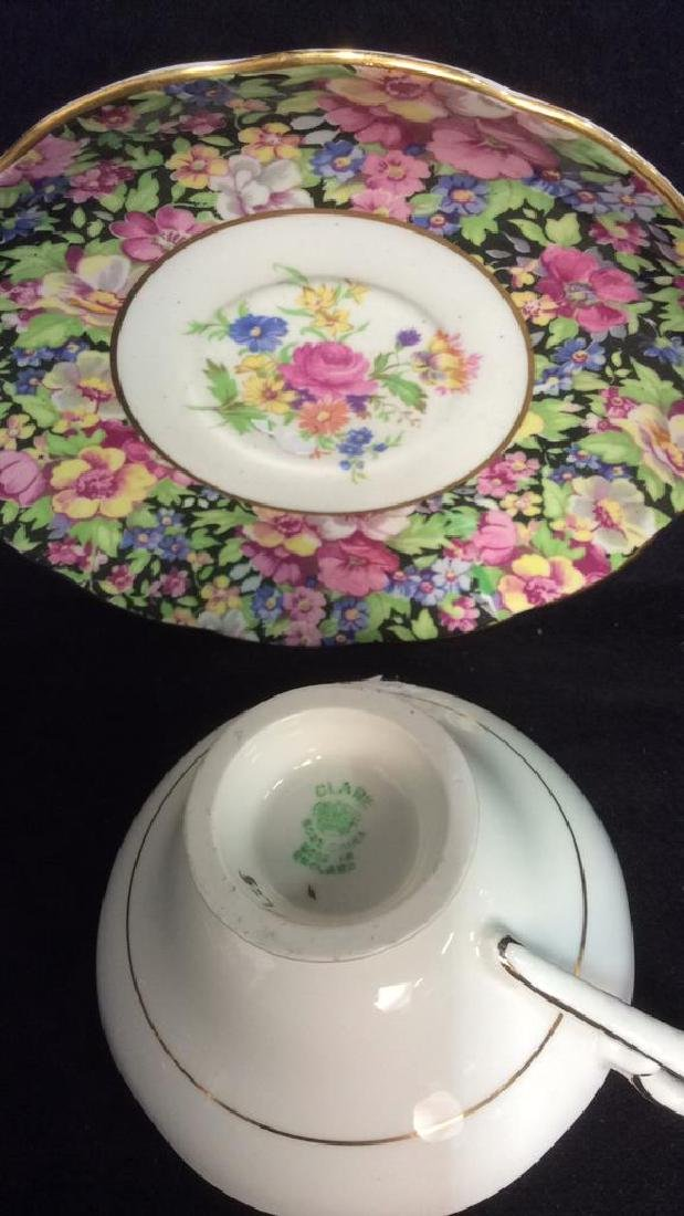 Group Lot English Chintz Porcelain Table top - 7