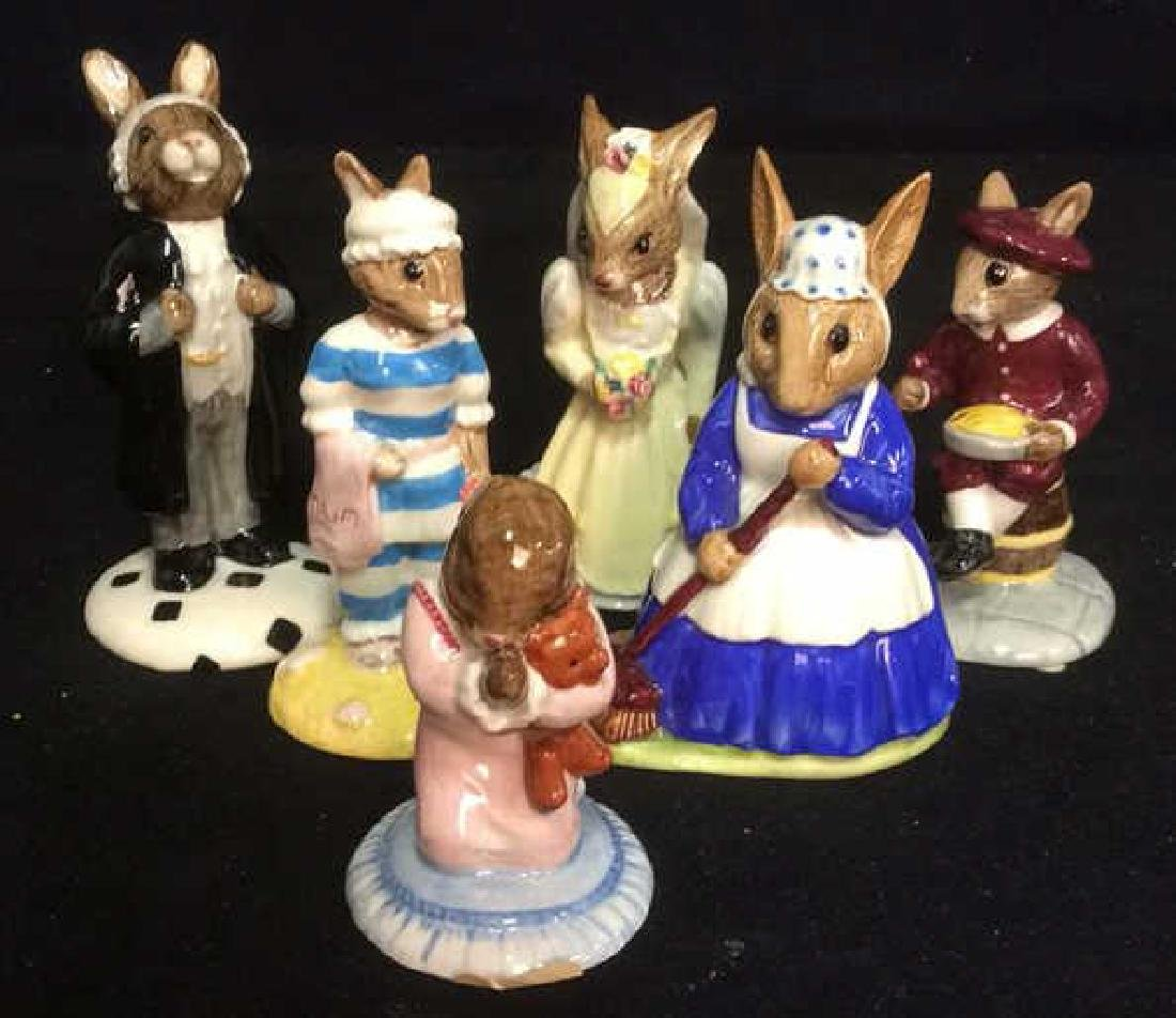 Lot 6 Royal Doulton Porcelain Bunnykins