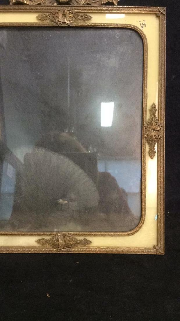 Antique Victorian Painted Gilded Picture Frame - 2
