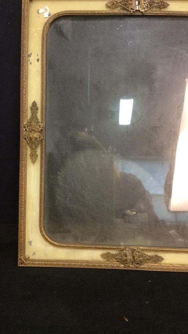 Antique Victorian Painted Gilded Picture Frame - 3